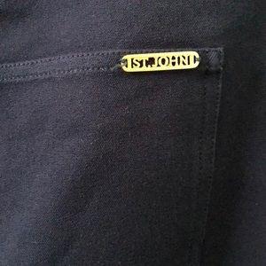 St John Navy Pants